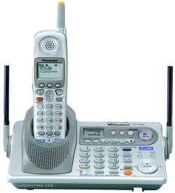 panasonic kx tg5480s 2 line 5 8ghz cordless telephone rh adcombhs com Panasonic Kx Phone Manual Panasonic 6.0 Cordless Phone Manual